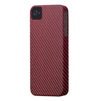 Blackberry Bold Case - Carbon Fiber - Red