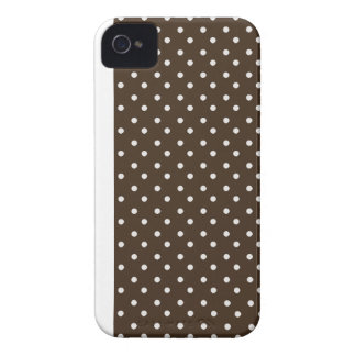 Blackberry Bold Case-Mate Case Brown Polka Dots