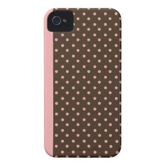 Blackberry Bold Case-Mate Case Pink Polka Dots