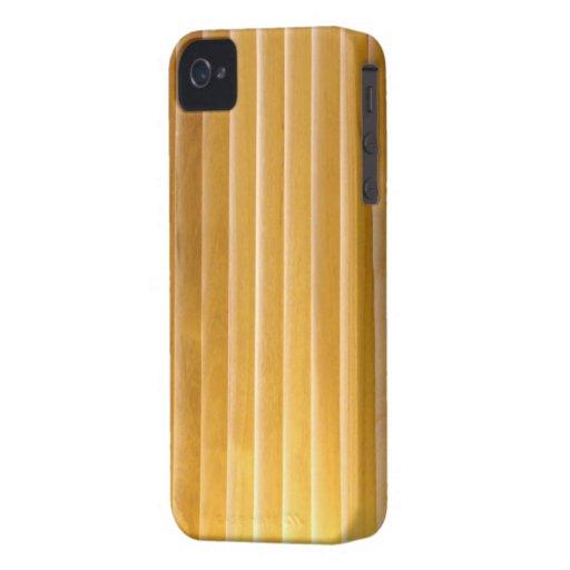 Blackberry Bold Case - Woods - Golden Slat Vert