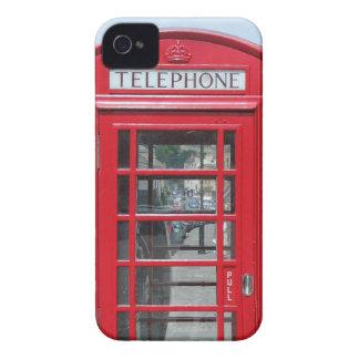 BlackBerry Bold: Classic red telephone box photo iPhone 4 Case-Mate Case