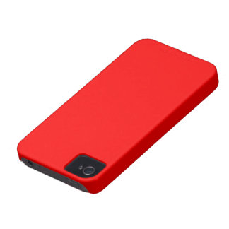 Blackberry Bold  color rojo iPhone 4 Protectores