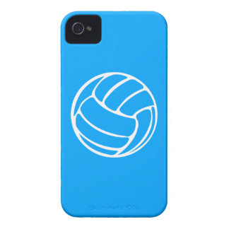BlackBerry Bold Volleyball White on Blue Blackberry Bold Cases