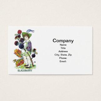 Blackberry Boy Business Card