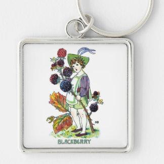 Blackberry Boy Keychain