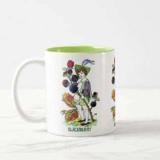 Blackberry Boy Two-Tone Coffee Mug