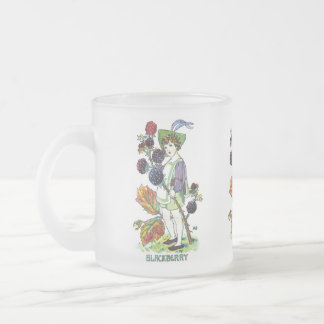 Blackberry Boy 10 Oz Frosted Glass Coffee Mug