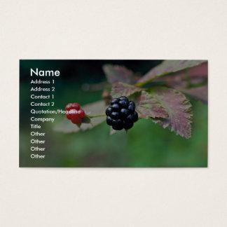 Blackberry Business Card