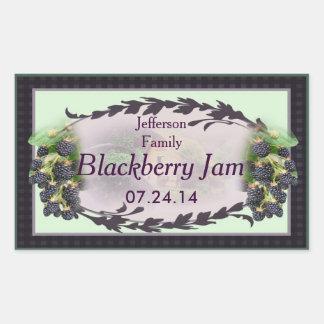 Blackberry Canning 4b Rectangular Sticker
