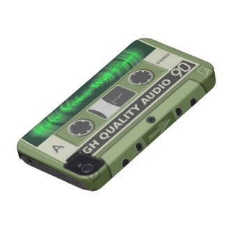 Blackberry Case - Cassette Tape Have Voice W Carry