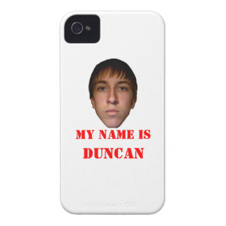 Blackberry Case, My name is Duncan Case-Mate iPhone 4 Case