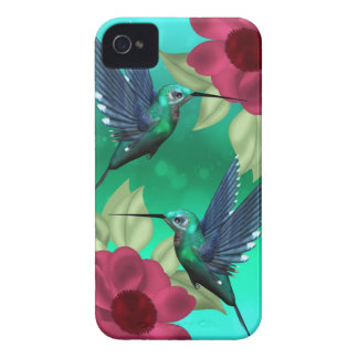 blackberry case with humming birds