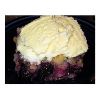Blackberry Cobbler Recipe Card