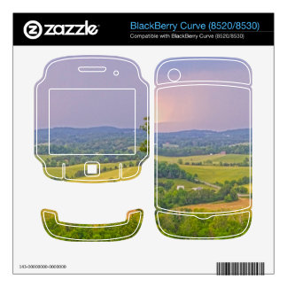 BlackBerry Curve (8520/8530) skin with mountains BlackBerry Decal