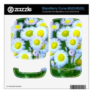 BlackBerry Curve (8520/8530) skin with wildflowers Skin For BlackBerry