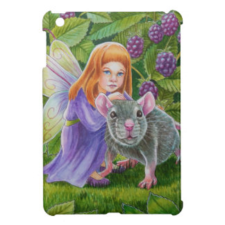 Blackberry Fairy and Pet Mouse iPad Mini Covers