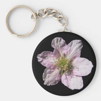 Blackberry flower ~ keychain