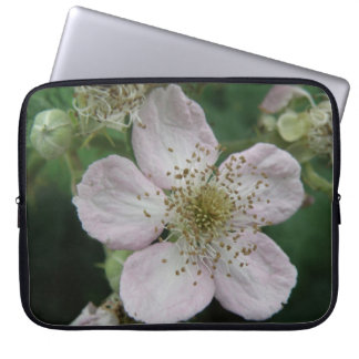 Blackberry Flower Macro Laptop Sleeve