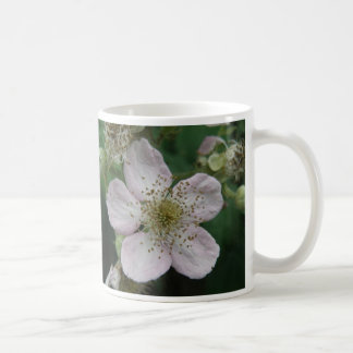 Blackberry Flower Macro Mug