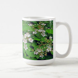 Blackberry Flowers in July Classic White Coffee Mug