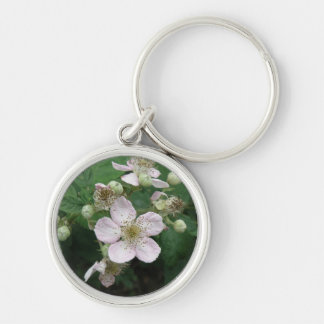 Blackberry Flowers Keychain