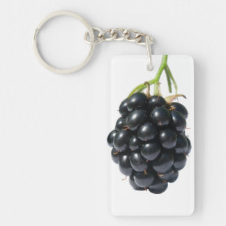 Blackberry Rectangle Acrylic Keychains