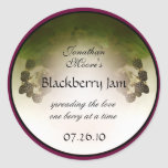 Blackberry Label1 Etiquetas Redondas