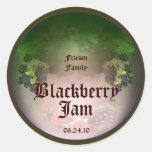 Blackberry Label 4 Round Sticker