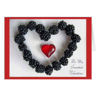 Blackberry Love Note Card