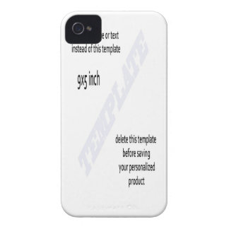 blackberry phone case TEMPLATE iPhone 4 Cover