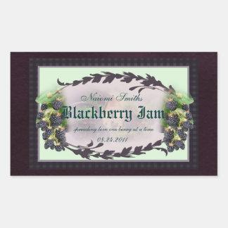 Blackberry R3 canning label