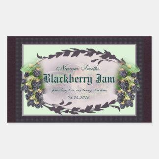 Blackberry R3b canning label