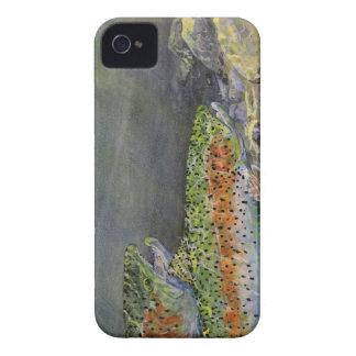 Blackberry rainbow trout case Case-Mate iPhone 4 case