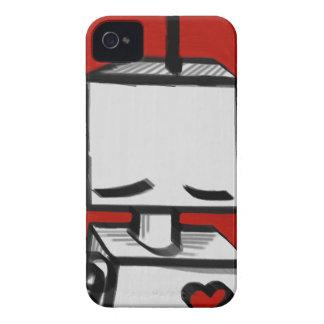 Blackberry RedRobot intrépido iPhone 4 Protector