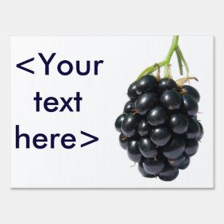 Blackberry Sign