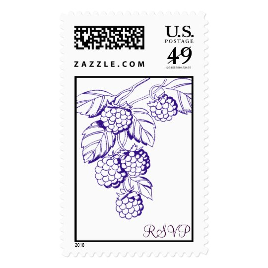 Blackberry Stamp