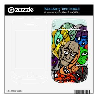blackberry torch skins