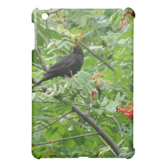 Blackbird and Berries  Case For The iPad Mini