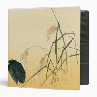 Blackbird, Edo Period 3 Ring Binder