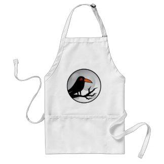 Blackbird Goth Raven/Crow Aprons
