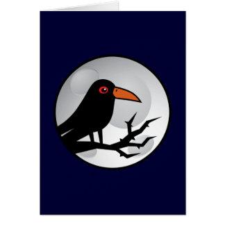 Blackbird Goth Raven/Crow Card