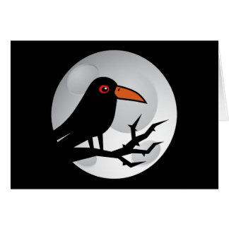Blackbird Goth Raven/Crow Greeting Cards