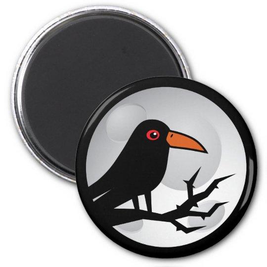 Blackbird Goth Raven/Crow Magnet