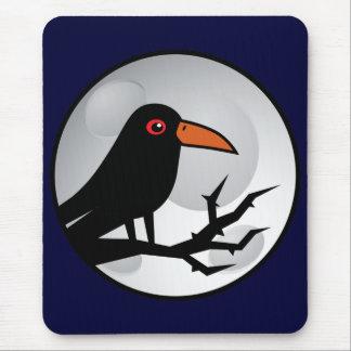 Blackbird Goth Raven/Crow Mouse Mat