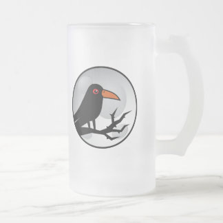Blackbird Goth Raven/Crow Mugs