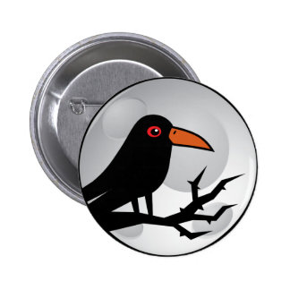 Blackbird Goth Raven/Crow Pin