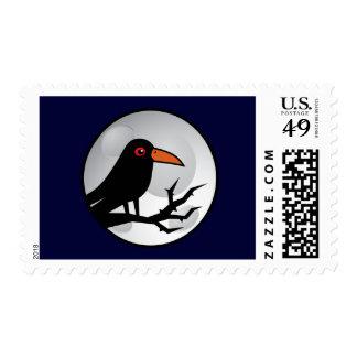 Blackbird Goth Raven/Crow Postage