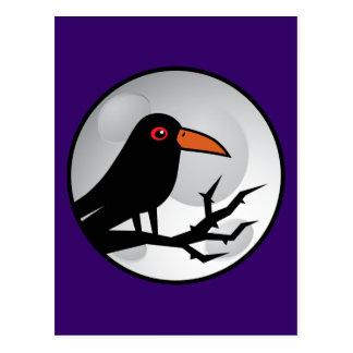 Blackbird Goth Raven/Crow Postcards