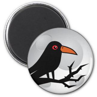 Blackbird Goth Raven/Crow Refrigerator Magnets
