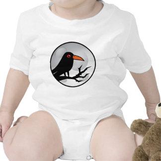 Blackbird Goth Raven/Crow T Shirt